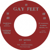 Harmonizers - My Queen / Valentines - Blam Blam Fever (Gay Feet / Dub Store Records) JPN 7""